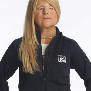 Scholar in U.S.ParaOlympic uniform