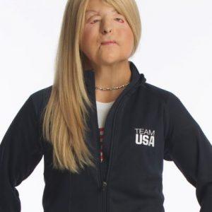 Scholar in U.S.ParaOlympic uniform