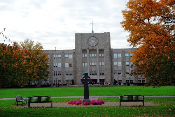 view of main building SJU